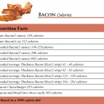 Bacon Calories