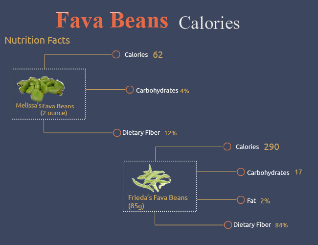 Calories in Fava Beans