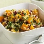 Couscous and squash salad