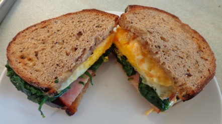 Hearty Egg Sandwich