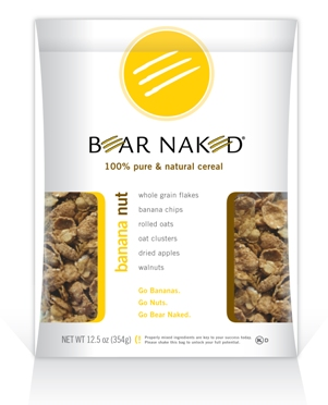 Banana Nut Bear Naked 100% Pure and Natural Cereal