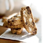 Deep dark chocolate biscotti