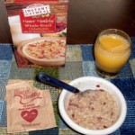 Heart Healthy Whole Grain Cranberry Instant Oatmeal