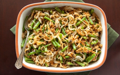 How to slim down green bean casserole