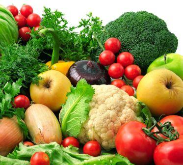 Eating Colourful Fruits And Vegetables