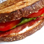 Easy turkey BLT