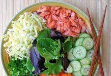 healthy and tasty salad