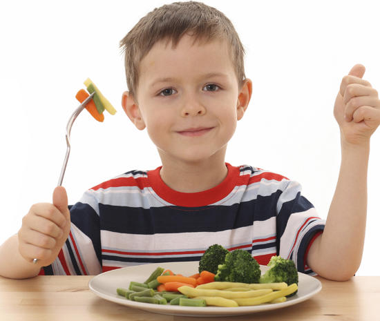 tips to get kids to eat vegetables
