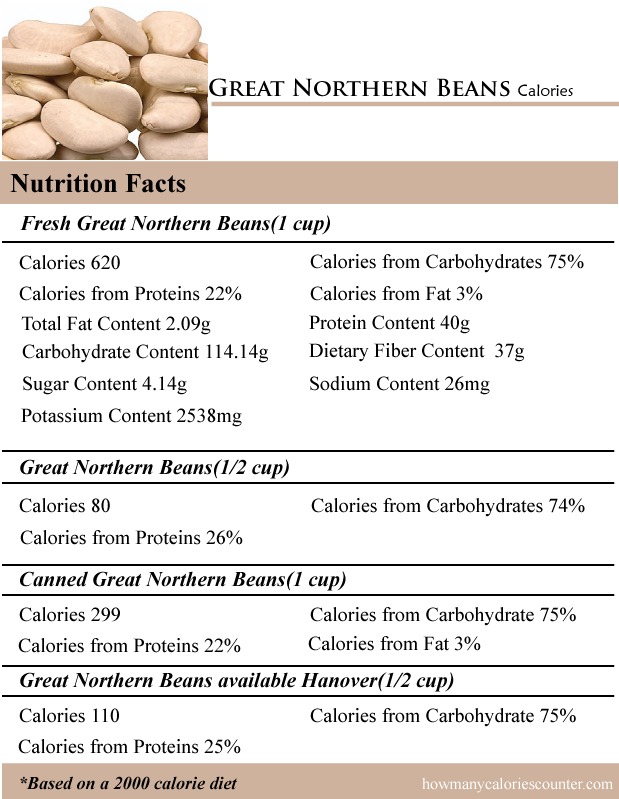 Great Northern Beans Calories