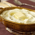 How to slim down mashed potatoes