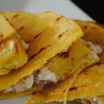 Grilled Pineapple with Goat Cheese
