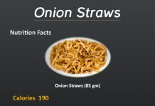 How Many Calories in Onion Straws