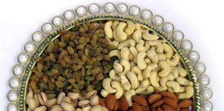 dry fruits at home